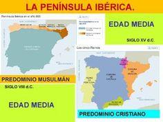AL-ANDUALUS. LOS REINOS CRISTIANOS Historia de la península ib´`erica en la Edad Media