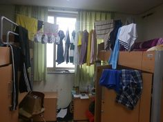 In my dormitory, I don't have enough space for dormitory