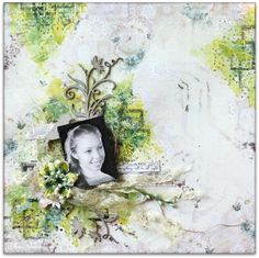 Blue Fern Studios: Two more layouts by Wilma  with the beautiful Autu...