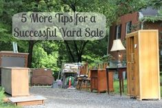 Five more tips for a successful yard sale