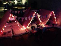 Dicas para festa do pijama com cabaninhas! - Just Real Moms - Blog para Mães