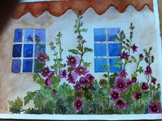Watercolor, Colour, Painting, Beauty, Art, Pen And Wash, Color, Art Background, Watercolor Painting