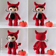 The Little Red Devil Amigurumi (Free Amigurumi Patterns)