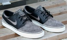 online retailer 7bcbd 57a53 Nike SB Zoom Stefan Janoski Black Midnight Fog  Nike SB drops a new  colorway of its highly successful Zoom Stefan Janoski for Spring