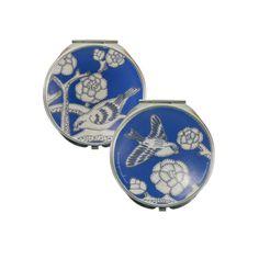 Jan Constantine  - China Blue Mirror Compact JC COM CB, £8.50 (http://www.janconstantine.com/china-blue-mirror-compact-jc-com-cb/)