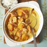 Baked Shrimp Curry