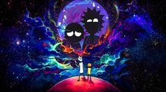 1280x800 Rick and Morty in Outer Space 1280x800 Resolution Wallpaper, HD TV Series 4K Wallpapers, Images, Photos and Background - Wallpapers Den