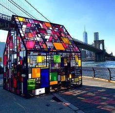 In New York, by Tom Fruin