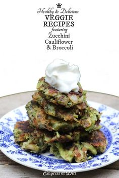 Ready for some fabulous veggiemania? Zucchini pasta! Cauliflower tortillas and pizza crust! Broccoli fritters! Delicious! These recipes are low-carb and vegetarian. Some are also gluten-free and vegan. Plus, when you bake instead of fry, they are healthier choices than the traditional versions.