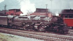 "2-6-6-6 Allegheny  | Chesapeake & Ohio 2-6-6-6 ""Allegheny"" Type Locomotives"