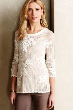 Knitted & Knotted Kessel Pullover #anthrofave #anthropologie