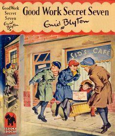 Good Work Secret Seven by Ben Penny For The Guy, The Secret Seven, Enid Blyton Books, Who Book, Book Cover Art, Book Covers, Vintage Children's Books, Childrens Books, Childhood