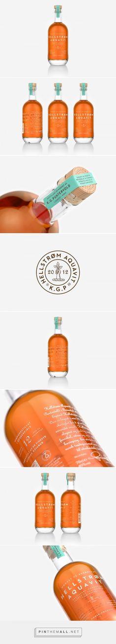 Hellstrøm Aquavit Packaging by OlssønBarbieri | Logo Designer Bradenton, Web Design Sarasota, Tampa Fivestar Branding Agency #packaging #package #packagingdesign #packagedesign #packaginginspiraton #design #designinspiration