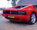 Photo of UK registration number plate J989OPK / J989 OPK: Ferrari Testarossa http://platewave.com