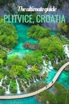 What to see at Plitvice Lakes National Park, Croatia (everything you need to know) The ultimate guide to visiting Plitvice, Croatia & spend 2 days in Plitvice itinerary, including prices [& Croatia Travel Guide, Europe Travel Tips, European Travel, Places To Travel, Places To See, Travel Destinations, Croatia Itinerary, Overseas Travel, Travel Advice
