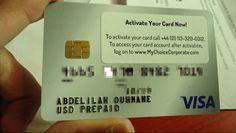 اتبات التوصل ببطاقة بنكية فيزا وتفعيل البايبال للسحب