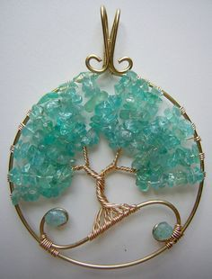 15% Off Daenerys-Inspired Tree of Life Wire Wrapped Pendant