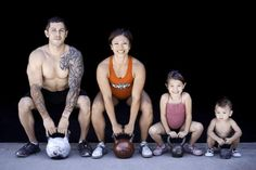A #Crossfit family