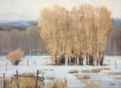 Canyon Winter by Shanna Kunz Oil ~ 18 x 24