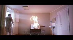 Burned alive scene. Let the right one in