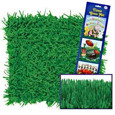 Pkgd Tissue Grass Mats (green) Party Accessory (1 count) (2/Pkg) by Beistle, http://www.amazon.com/dp/B004L6L79W/ref=cm_sw_r_pi_dp_PiB2rb1V8Q32S