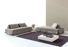 Via Moretti Rosini UK. Upholstered Furniture, Outdoor Furniture, Outdoor Decor, Italian Sofa, Sun Lounger, Showroom, Sofa Beds, Grande, House