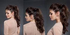 PONYTAIL MESSY #Ponytail #Messy #QueueDeCheval #Hair #Styling #Mariage #Wedding #DIY #Elnett #LorealParis