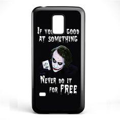 Joker Quotes TATUM-5943 Samsung Phonecase Cover Samsung Galaxy S3 Mini Galaxy S4 Mini Galaxy S5 Mini