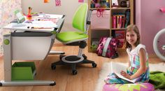 Kids need their own spots to think, dream and create. Moll Desk Chairs ensure they're comfortable while they do all three.