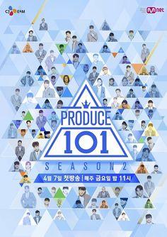 《PRODUCE 101》第二季海報
