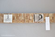 Die Raumfee: Pinnwand aus Weinkorken // Comment Wall made ​​of wine corks