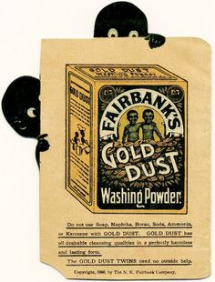 Booklet advertising Fairbank's Gold Dust Washing Powder - published in 1908