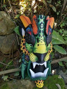 Jaguar mask máscara de Jaguar Boruca mask por VictorStudioCR