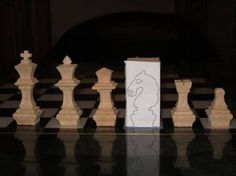 scroll saw chess pieces pattern - Google Search