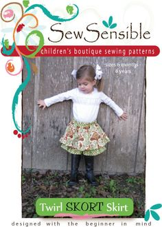 Children's Boutique Sewing Patterns for Beginners -Kate?