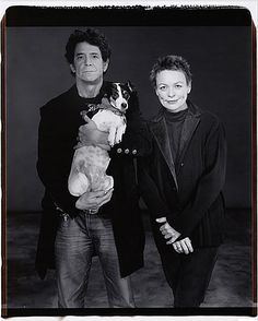 Mary Ellen Mark    Lou Reed & Laurie Anderson. (RIP Lou Reed)