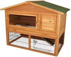 Der Holz- Kleintierstall Cordoba überzeugt durch eine hochwertige Verarbeitung und bietet ein ideales Zuhause für z.B. Kaninchen oder Meerschweinchen.