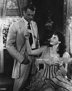 SARATOGA TRUNK (1945) - Gary Cooper - Ingrid Bergman - Based on novel by Edna Ferber - Directed by Sam Wood - Warner Bros. - Publicity Still.