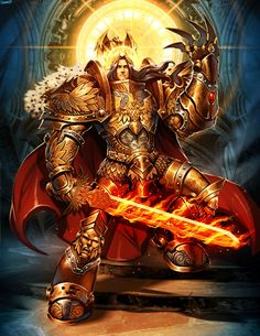 The God-Emperor of Mankind. Blessed be the Emperor on his Golden Throne!