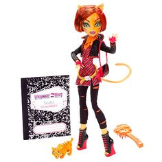 Monster High Doll - Toralei Stripe - Mattel - Toys R Us