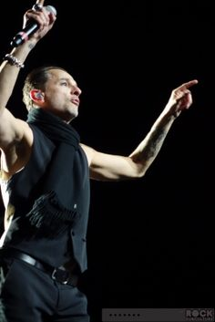 Dave Gahan of Depeche Mode, photo by Jason Debord
