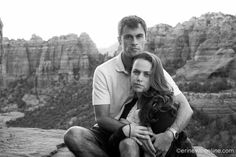 Engagement Photography Sedona Arizona Best Erin Evangeline Photography- Schnebly Hill Road