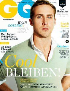 Ryan Gosling -GQ magazine cover [Germany] (July 2013)
