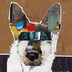 Dog Art of German Shepherd I on Canvas Print