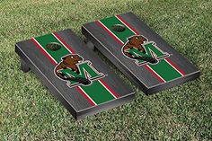 Minot State MSU Beavers Cornhole Game Set Onyx Stained Stripe Version >>> Check out the image by visiting the link.