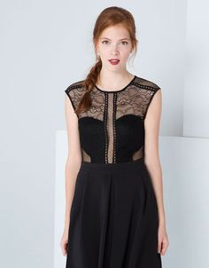 Discover this and many more items in Bershka with new products every week Short Playsuit, Dressy Outfits, Ukraine, Bodysuit, Formal Dresses, Fabric, How To Wear, Clothes, Shopping