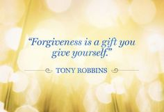 Forgiveness is for yourself.  Order his program at http://foudak.com/anthony-robbins/