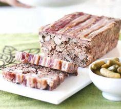 une terrine à base de viande, un plat délicieux et facile à faire avec cooking chef, voila la recette de Terrine de campagne