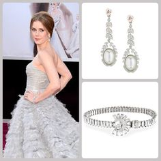 Amy Adams red carpet accessories