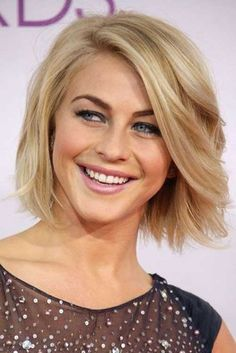 Julianne Hough Blonde Bob Haircuts